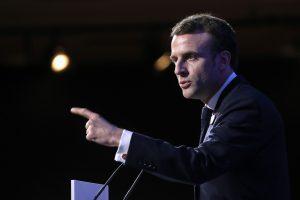 Prancūzijos prezidentas paskelbė priemones kovai su antisemitizmu