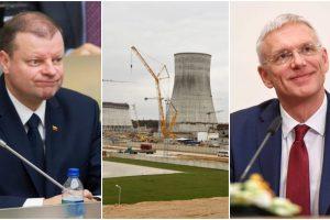 S. Skvernelis: Lietuvos pozicija dėl Astravo AE nesikeičia