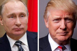 D. Trumpas svarsto galimybę susitikti su V. Putinu