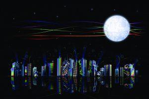"""Kinija planuoja iškelti į orbitą """"dirbtinių mėnulių"""" miestams apšviesti"""