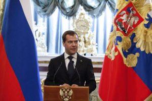 Rusijos parlamentas patvirtino premjeru D. Medvedevą