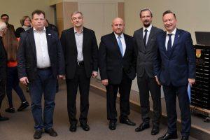Prisistatė kandidatai į Klaipėdos universiteto rektorius