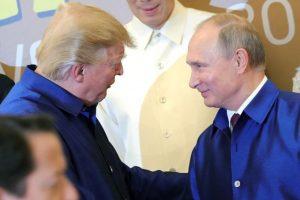 D. Trumpas: susitikimas su V. Putinu gali būti lengvesnis nei su Europos partneriais