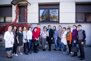 Klaipėdos medicininės slaugos ligoninė sulaukia jaunimo dėmesio