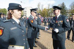 Klaipėdoje – iškilminga policijos ir visuomenės šventė