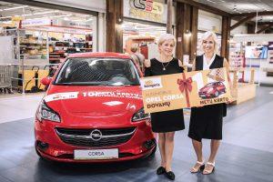 Gimtadienį šventusi šilutiškė naują automobilį dovanų gavo vos už 31 eurą