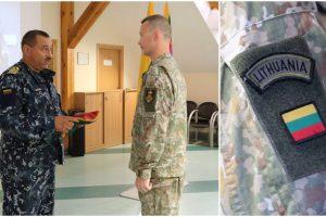 Klaipėdoje į tarptautinę operaciją išlydėta Lietuvos karių grupė