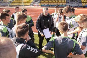 Lietuvos 17-mečių futbolo rinktinė kovos dėl vietos Europos čempionate