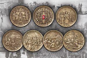 Kovotojams už nepriklausomybę atminti – išskirtinių medalių rinkinys