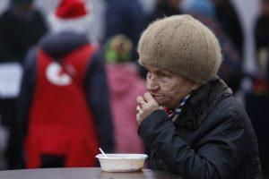 Naujausi duomenys: 36 proc. pensininkų Lietuvoje patiria skurdo riziką