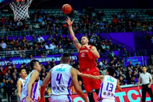 D. Motiejūno sezonas Kinijoje baigėsi aštuntfinalyje