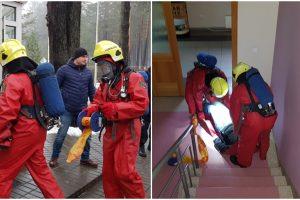 Ignalinos pasienio rinktinėje inscenizuotos situacijos: vyko saugos pratybos