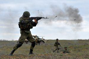 Gruzijoje kitą vasarą planuojama surengti didžiausias karines pratybas
