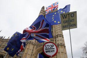 """Britanijos parlamentarė dėl """"Brexit"""" balsavimo atidėjo gimdymą"""