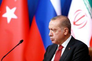 """R. T. Erdoganas ragina Rusiją ir Iraną sustabdyti """"katastrofą"""" Idlibe"""