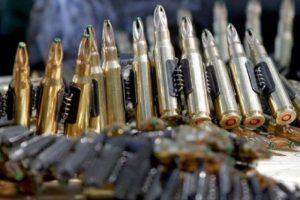 """Karininko namuose """"Aro"""" pareigūnai aptiko ginklų arsenalą"""