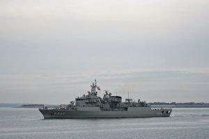 Egėjo jūroje – Graikijos ir Turkijos laivų susidūrimas