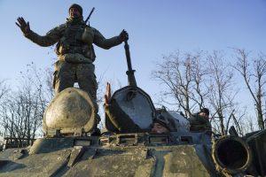 Ukraina uždraudė į šalį atvykti rusų vyrams