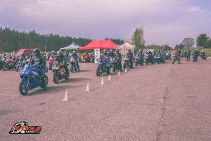 Motociklininkai ir policija vienijasi: ketvirtadienį Kačerginėje – bendri mokymai