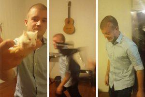Australas gyvai žiurkei nukando galvą