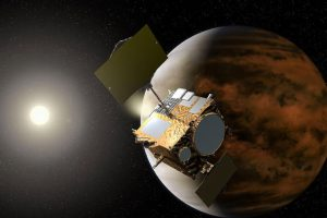 Po kosmosą klaidžiojęs japonų zondas vis dėlto pasiekė Venerą