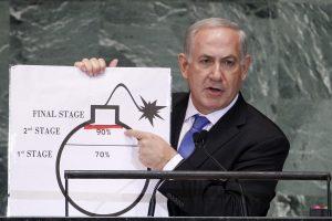 Izraelio premjeras: neleisime Iranui gauti branduolinių ginklų
