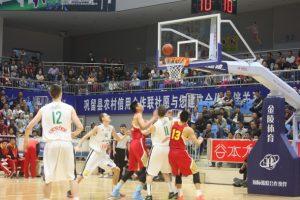 Aštuoniolikmečiai krepšininkai tęsia rungtynių seriją Kinijoje