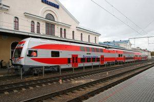 2016-aisiais traukiniais važiavo daugiau keleivių