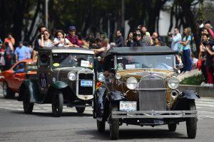 Klasikinių automobilių paradas Meksikoje  pasiekė pasaulio rekordą