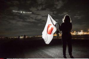 Saulės energija varomas lėktuvas įveikė ketvirtadalį kelio