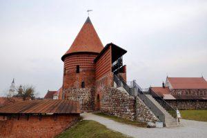 Nelaimė miesto širdyje: degė Kauno pilis