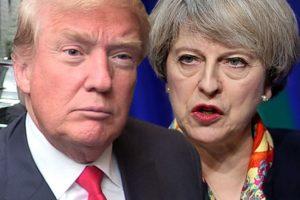 """Amerikos lyderis viešai """"sudirbo"""" Britanijos premjerę"""