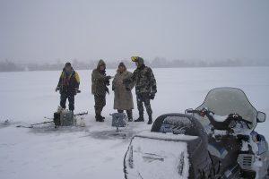 Žvejyba ant ledo nuvedė į Rusiją
