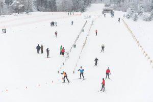 Lietuvos slidinėjimo čempionato medaliai išdalyti Latvijoje