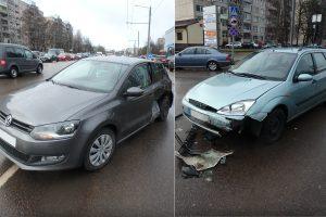 Gal matėte šią avariją Kaune? Pareigūnams reikia pagalbos