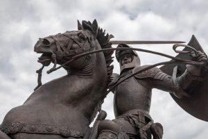 """Ažiotažas dėl """"Laisvės kario"""": jį kūrusius ukrainiečius tenka raminti"""