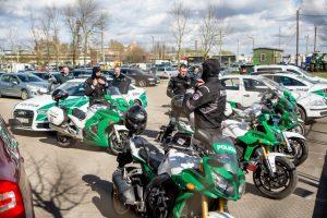 """Policininkai balnoja plieninius """"žirgus"""": mieste ir rajone – reidai"""