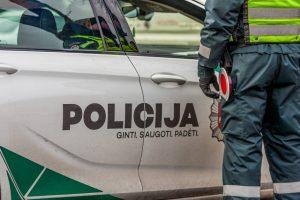 Per savaitę sostinės pareigūnams įkliuvo 25 girti vairuotojai
