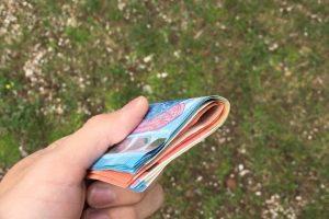 Vilnietis ragina atsiliepti: kas pametė nemenką pinigų sumą?