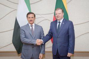 JAE ir Lietuva svarsto atidaryti ambasadas šalių sostinėse