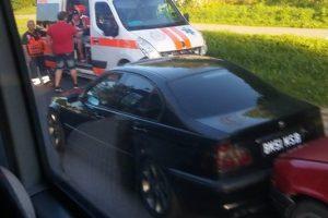 Raudondvario plente – keturių mašinų avarija, nukentėjo trys žmonės