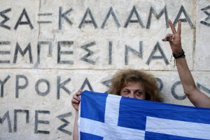 Kaip Graikija tapo TVF atpirkimo ožiu