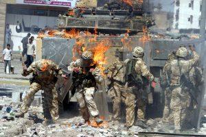 Artimųjų Rytų konfliktuose dominuoja britų eksportuojami ginklai