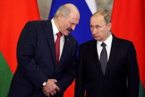 A. Lukašenka: ginčas su Rusija dėl naftos ir dujų – išspręstas