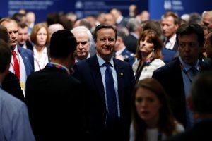 D. Cameronas: Britanija turi būti taip arti ES, kaip tik gali