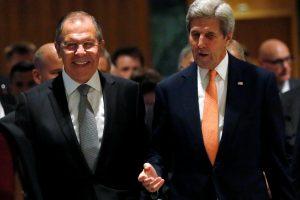 JAV siekia palenkti Rusiją dėl padėties Sirijoje