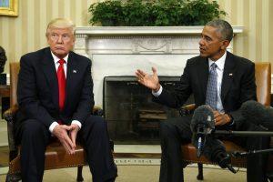 D. Trumpas išsaugos dalį B. Obamos palikimo?