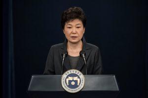 Pietų Korėjos prezidentės apkalta prasidės kitą savaitę