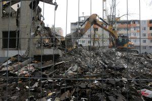 Maskvoje bus nugriauti ištisi daugiabučių kvartalai