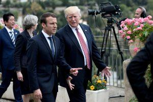 Politologė: E. Macronas nenusileidžia nei V. Putinui, nei D. Trumpui